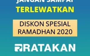 DIBUKA LAGI, Diskon Produk dan Jasa Digital Ratakan Spesial Akhir Ramadhan 1441 H